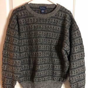 Paul Fredrick wool crew neck sweater